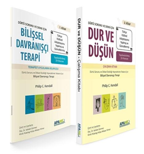 Bilişsel Davranışçı Terapi - Dur ve Düşün - 2 Kitap Takım