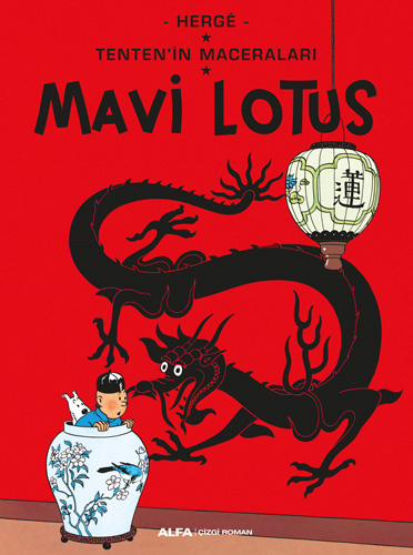 Tenten'in Maceraları Mavi Lotus