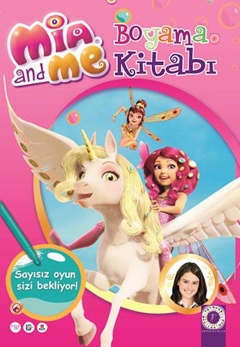 Mia and Me - Boyama Kitabı