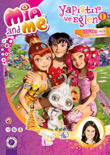 Mia and Me - Yapıştır ve Eğlen 1
