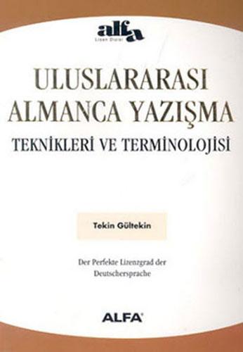 Uluslararası Almanca Yazışma Teknikleri ve Terminolojisi